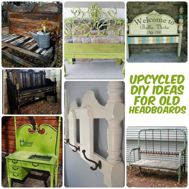 32 New Upcycled Diy Ideas For Old Headboards