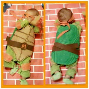 TMNT Costume for baby