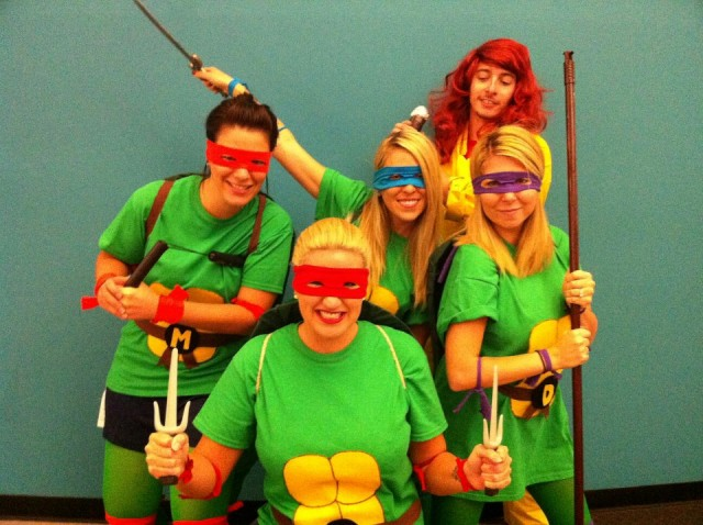 tmnt with april