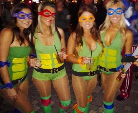 women ninja turtle costumes