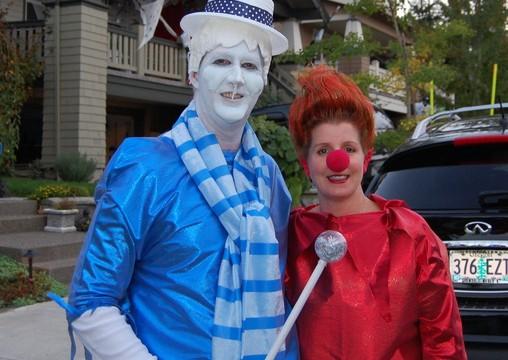 Heat Miser & Snow Miser halloween costumes