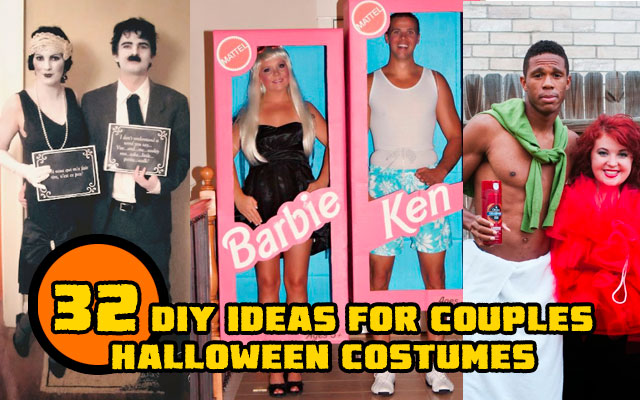 Barbie Halloween Costume Ideas.32 Diy Ideas For Couples Halloween Costumes