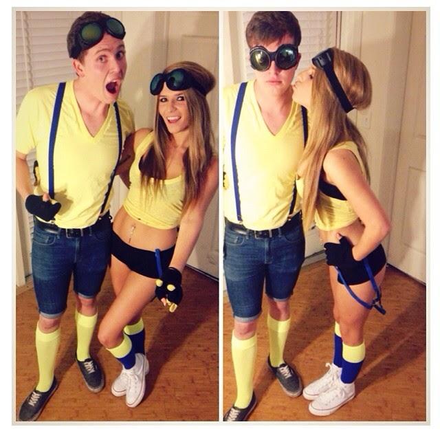 minions costume idea for a couple