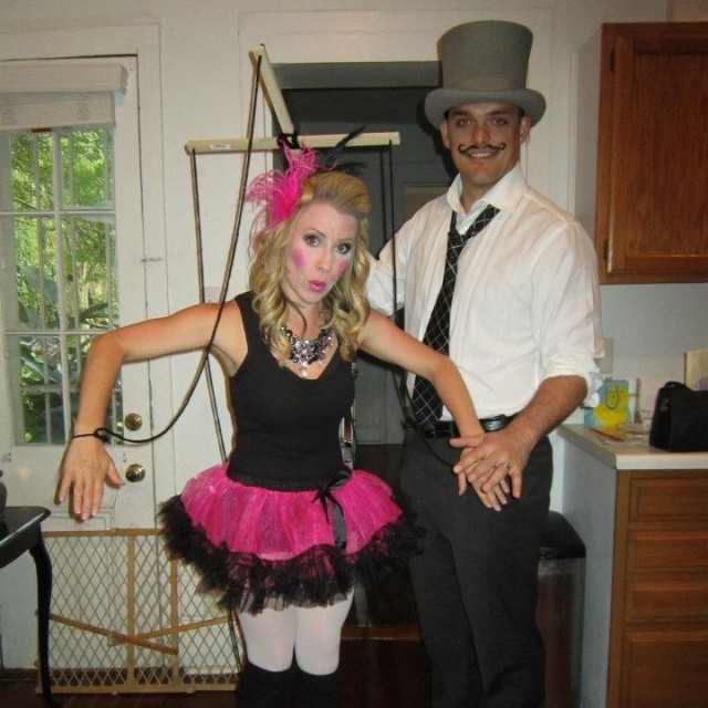 puppet and puppeteer halloween costume
