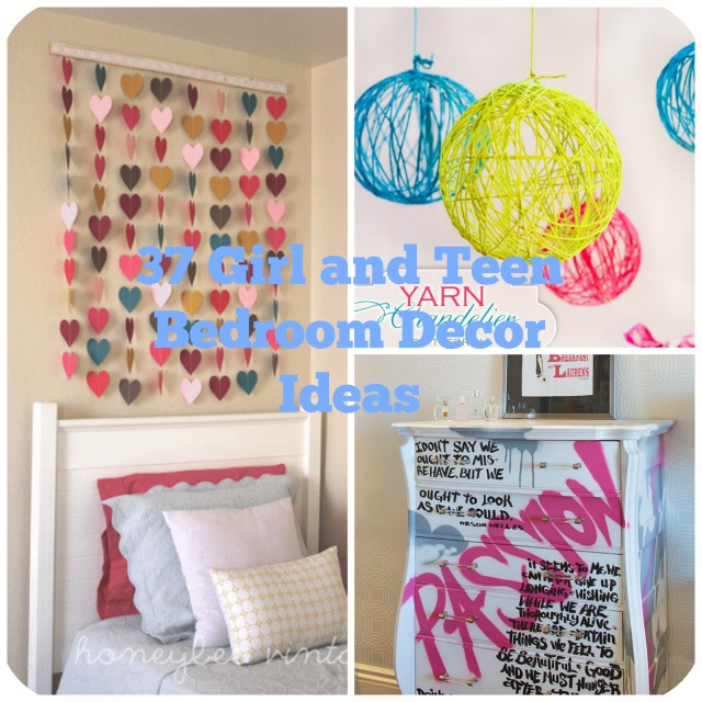 37 DIY Ideas for Teenage Girl\'s Room Decor