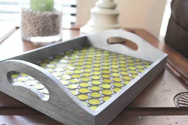 painted-wooden-tray-wth-vintage-bingo-chips-as-bottom-liner