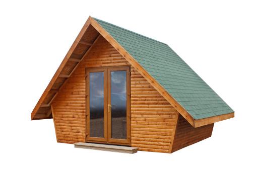 Timber garden building