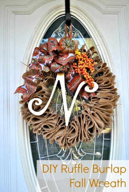 Fall wreath TEXT
