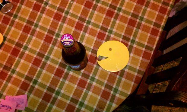 Pac Man Bottle Opener