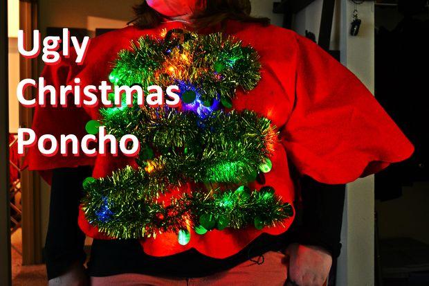 Ugly Christmas Poncho