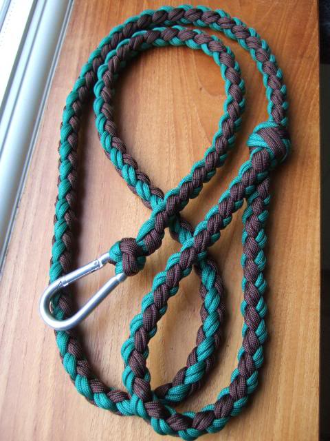 Paracord Dog Leash from BudgetLightForum