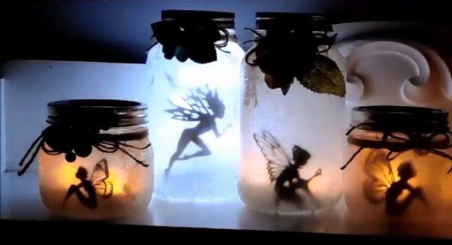 How to Make Mason Jar Fairy Lanterns