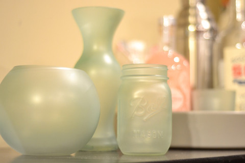 Sea Glass Vases