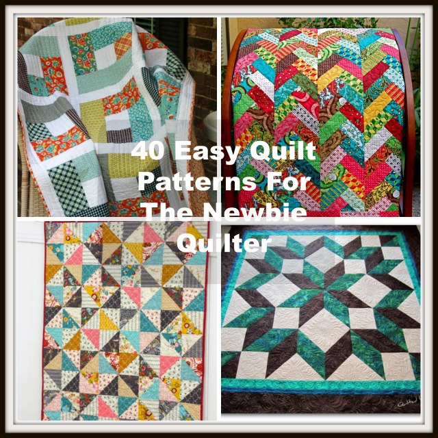 photo regarding Free Printable Chevron Quilt Pattern named 40 Straightforward Quilt Models For The Rookie Quilter