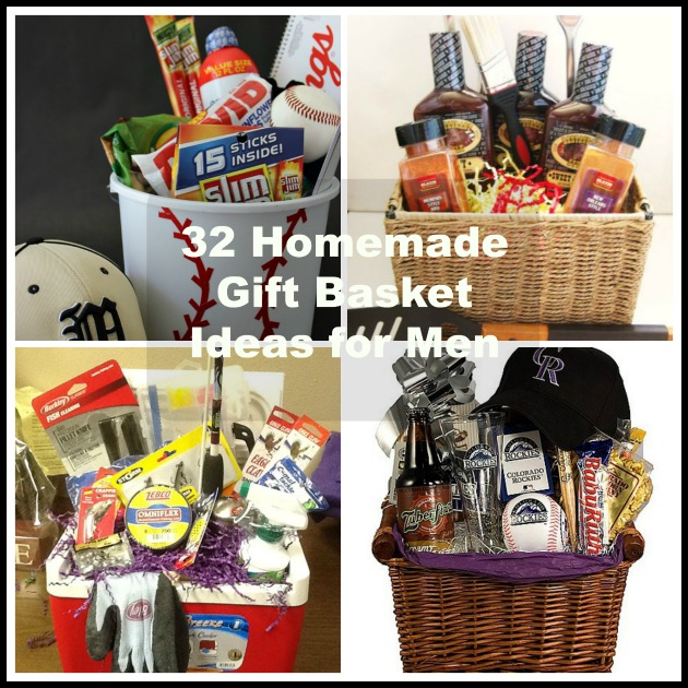 Christmas Gift Baskets Ideas.32 Homemade Gift Basket Ideas For Men