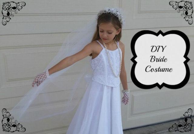 DIY Bride Costume