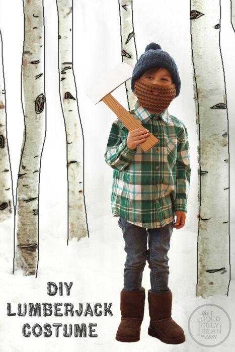 DIY Lumberjack Halloween Costume