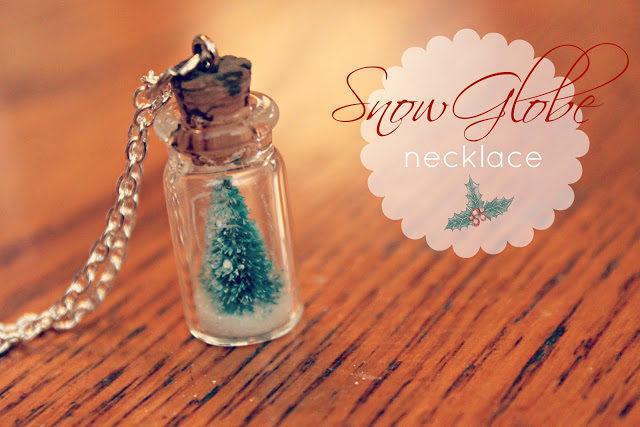 Snow Globe Necklace
