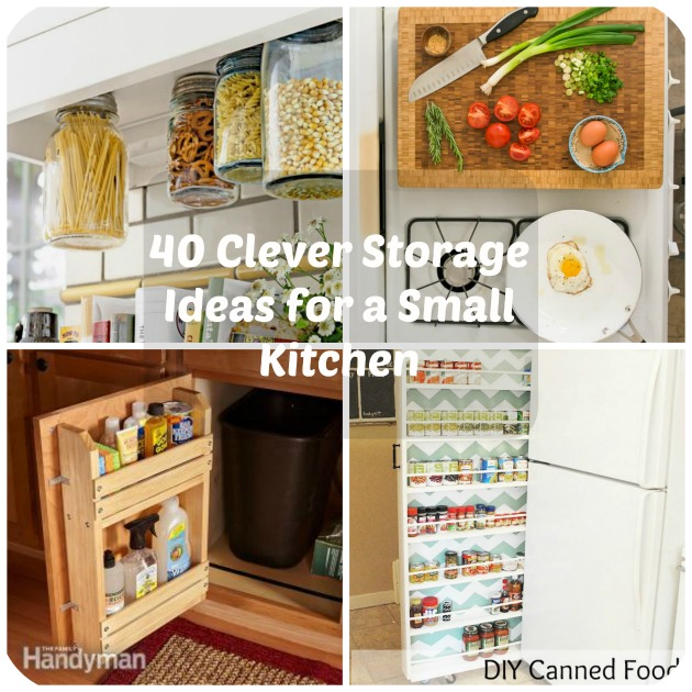 Awesome 40 Clever Storage Ideas For A Small Kitchen Cjindustries Chair Design For Home Cjindustriesco