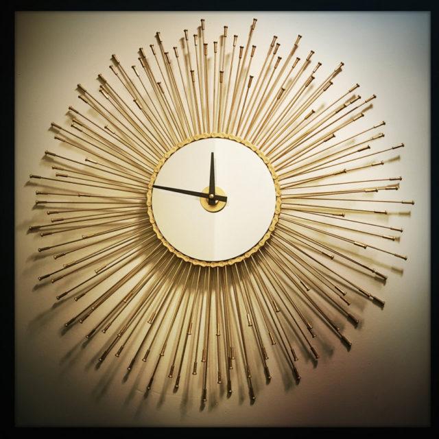 sunburst-wall-clock