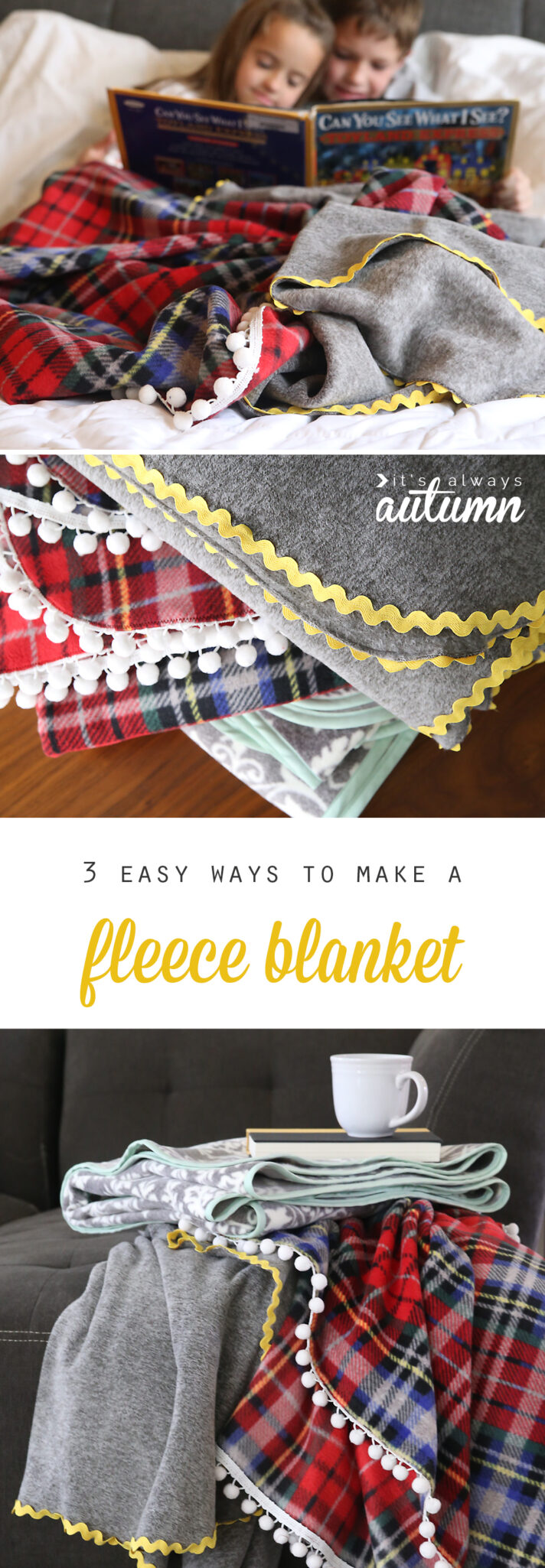 3 Easy Diy Storage Ideas For Small Kitchen: 3-easy-ways-to-make-a-fleece-blanket