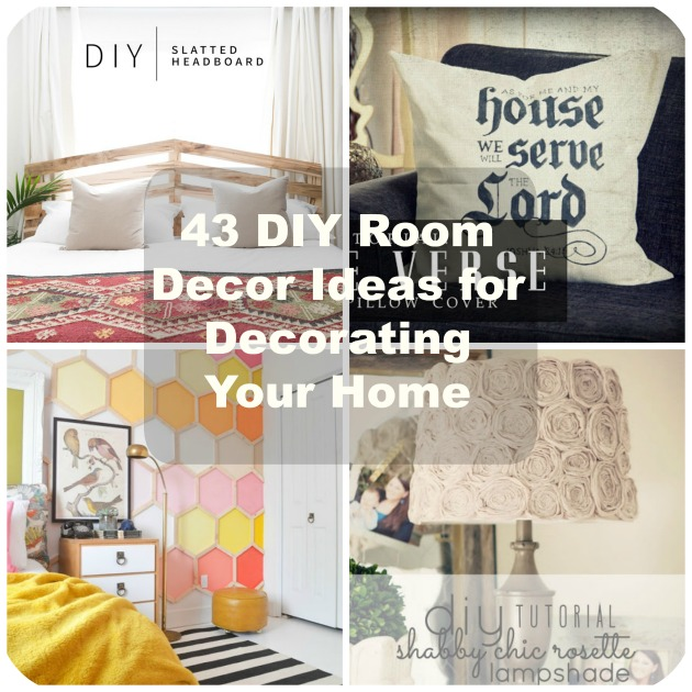 43 Diy Room Decor Ideas For Decorating Your Home