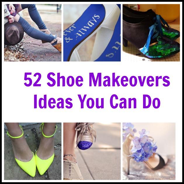 b76c7030ca4 52 Shoe Makeovers - Ideas You Can Do