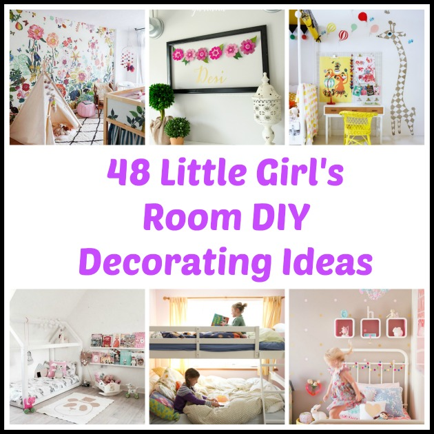 48 DIY Decorating Ideas for a Little Girl\'s Room
