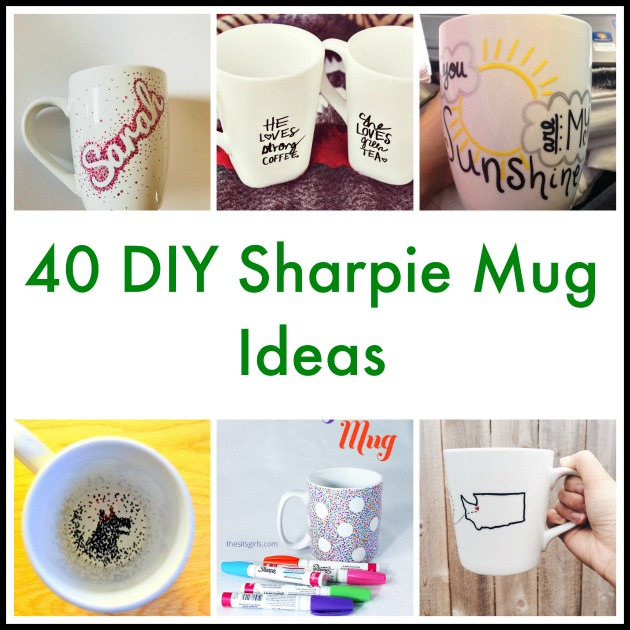 40 Diy Sharpie Mug Ideas